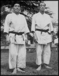 Хидео Оба и Кензи Томики